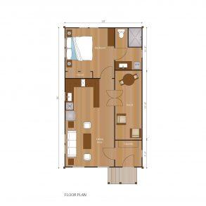 1 story detached floorplan