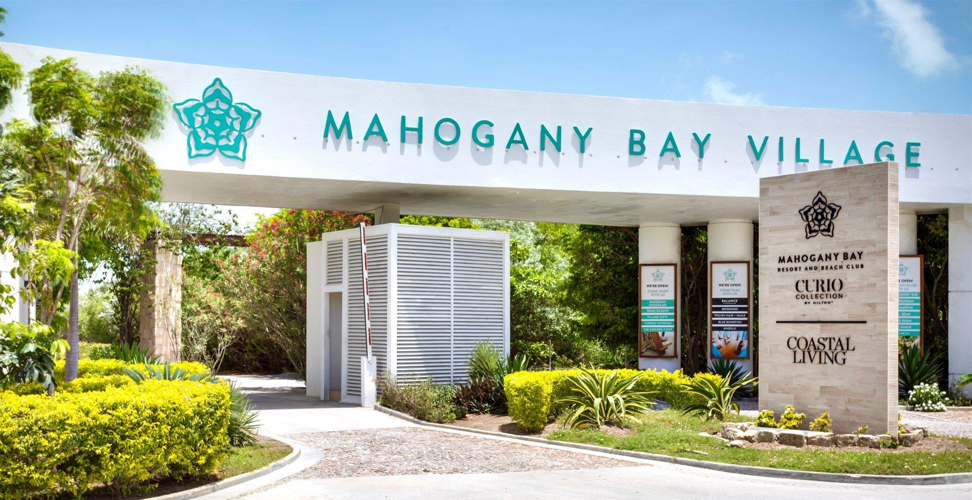 Front Gate at Mahogany Bay