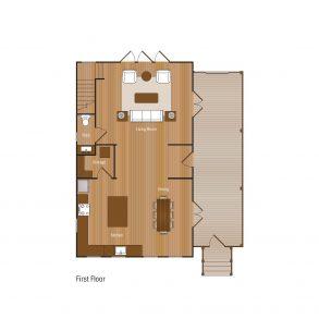 3 Bedroom First Floor Floorplan