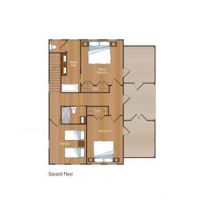 3 Bedroom Second Floor Floorplan