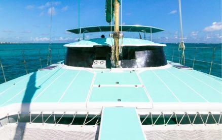 Catamaran in Belize