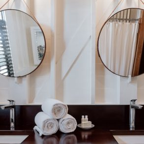 double vanity mahogany bay resort