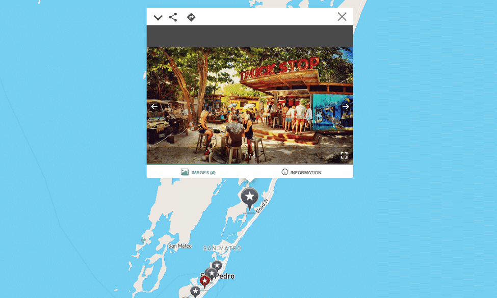 Interactive map of mahogany bay
