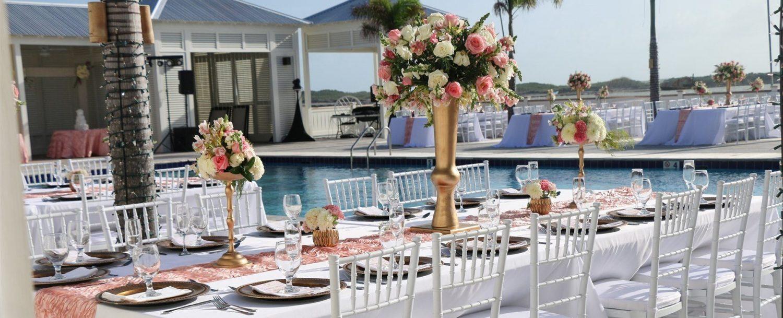 Wedding at Pool