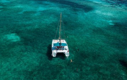 Catamaran in Belize