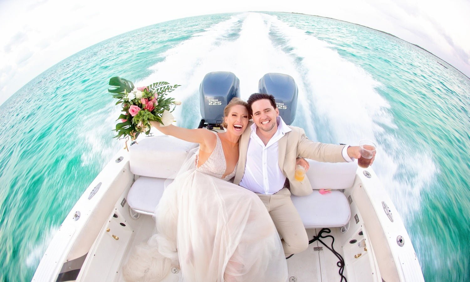 photoshoot on boat