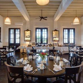 verandah indoor seating