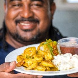 Belizean Lunch
