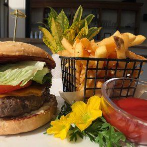 Shaken burger
