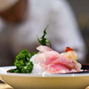 sashimi at JYOTO