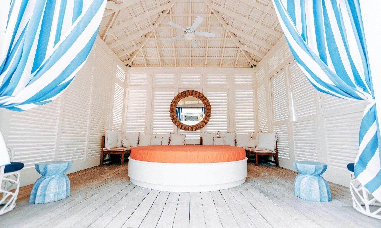 VIP pool cabanas