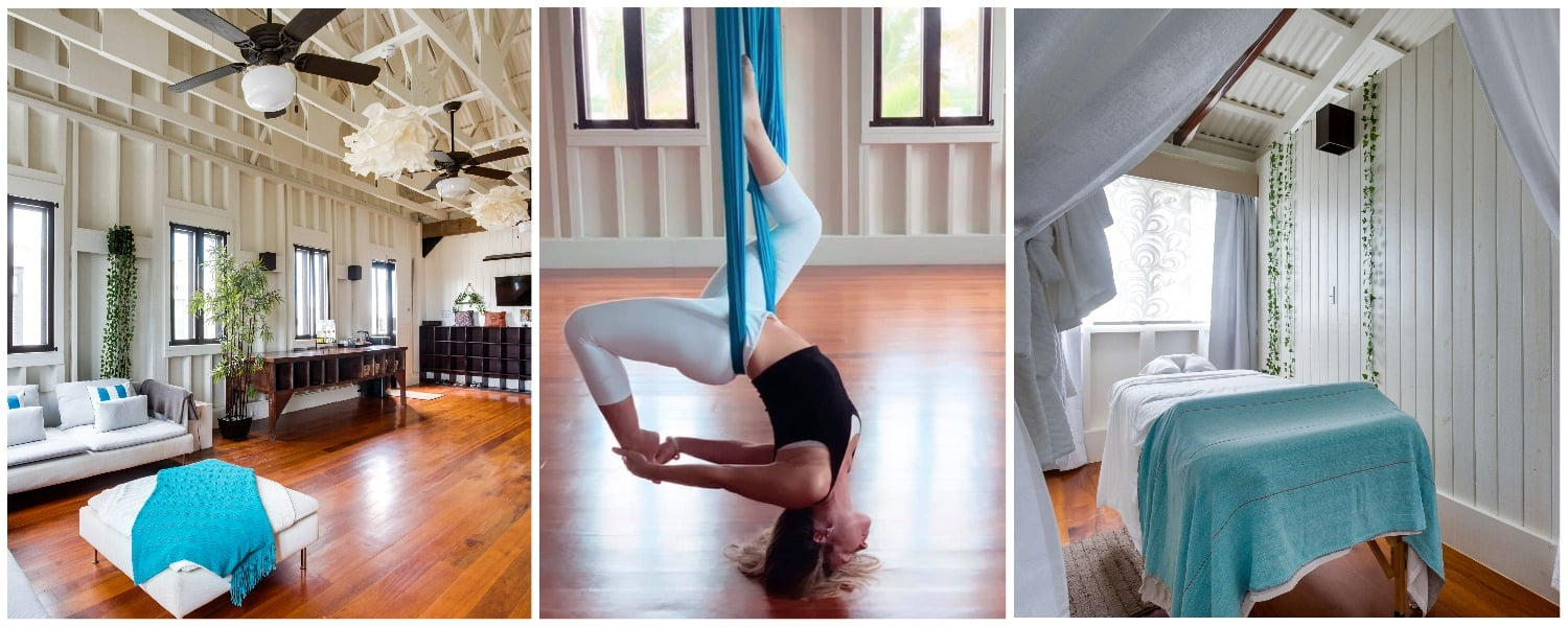 balance aerial yoga and treatment rooms
