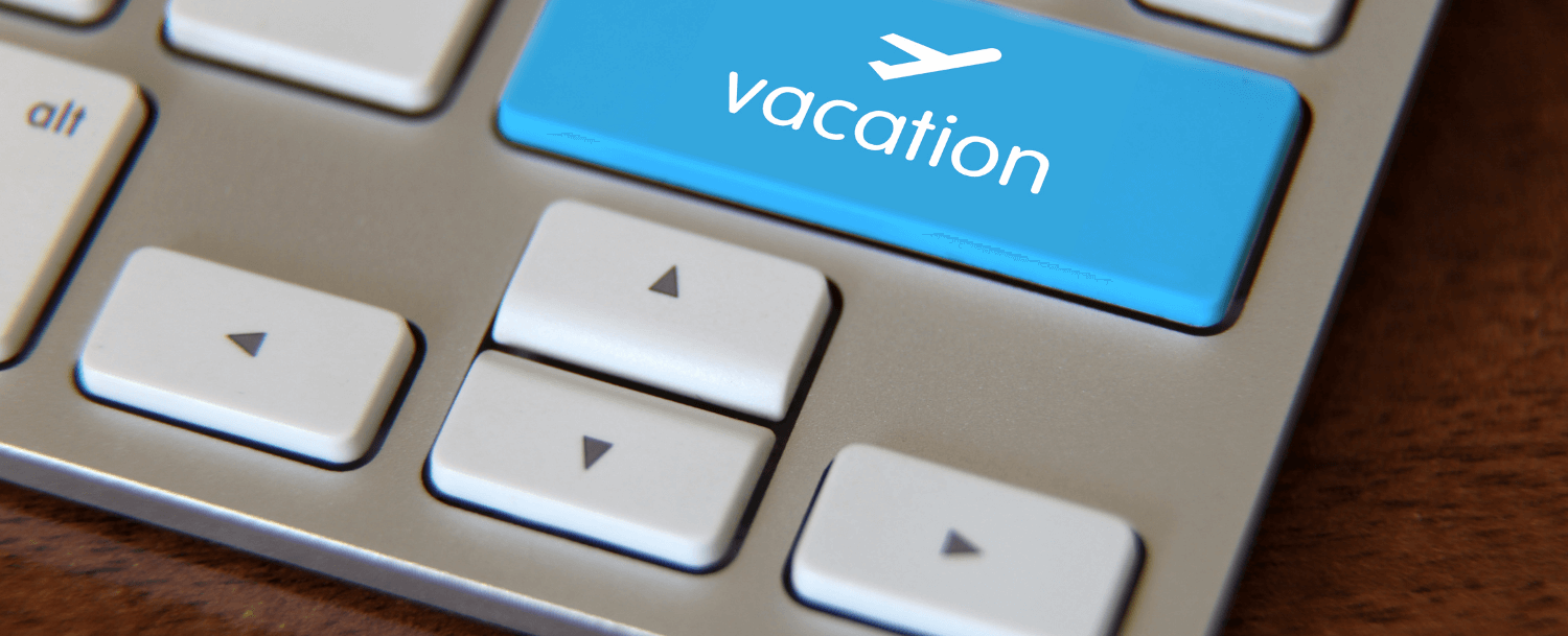 booking a vacation