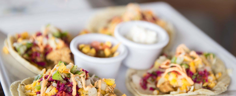tacos dining food restaurant